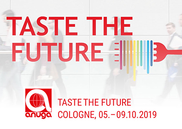 Anuga 2019--- Passage Hall 2 Hall 4 Stand 021